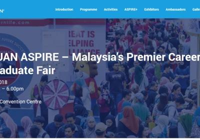 The 8th GRADUAN Aspire 2018 Career & Postgraduate Fair