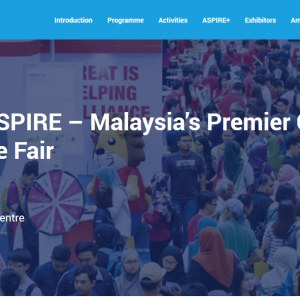 The 8th GRADUAN Aspire 2018 Career & Postgraduate Fair