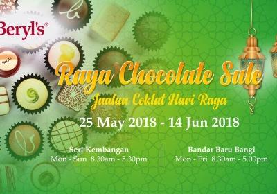 Beryl's Raya Chocolate Sale 2018