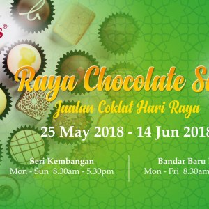 Beryl's Raya Chocolate Sale 2018