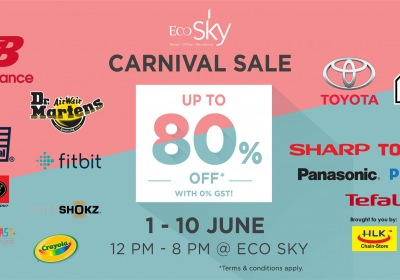 Eco Sky 0% GST Carnival Sale