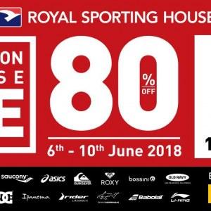 Royal Sporting House Mega Warehouse Sale June 2018