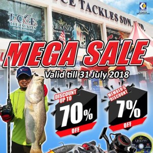 TCE Tackles Mega Sale