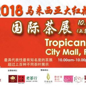 Da Hong Hua International Tea & Cultural Expo 2018