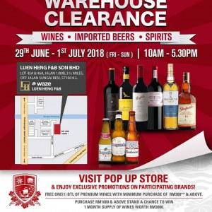 Luen Heng Mid Year Warehouse Clearance