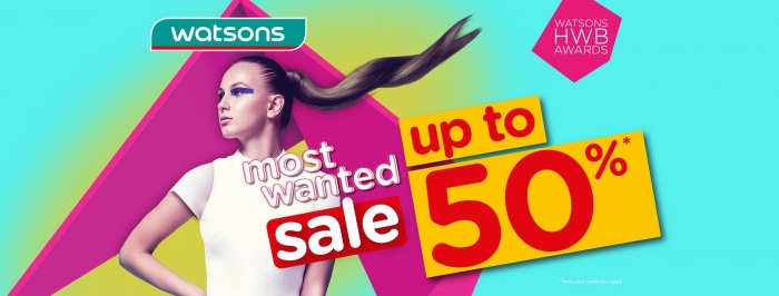 RM20 OFF Storewide @ Watsons Official Store in Lazada