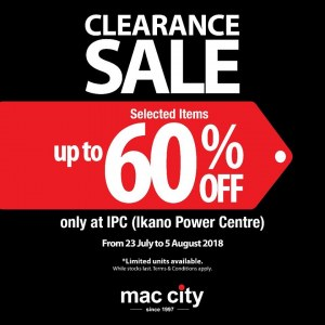 Mac City Clearance Sale - Up To 60% OFF