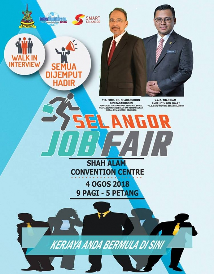 Selangor Job Fair 2018 @ Shah Alam