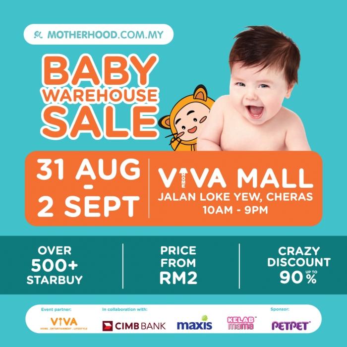 Motherhood.com.my Baby Warehouse Sale 2018