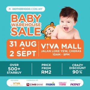 Motherhood.com.my Baby Warehouse Sale 2018