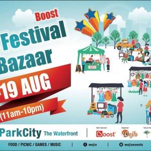 Boost - Food Festival & Bazaar @ Desa ParkCity