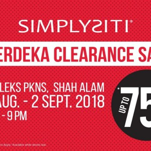 SimplySiti Merdeka Clearance Sale - Up To 75% OFF