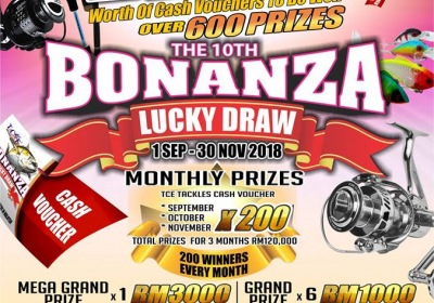 10th Bonanza Lucky Draw