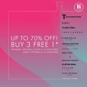 Robinsons Fashion Fair - Save Up to 70% OFF
