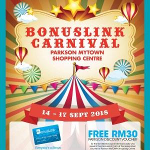 BonusLink Carnival @ Parkson MyTOWN Shopping Centre
