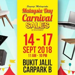 Malaysia Day Carnival Sale