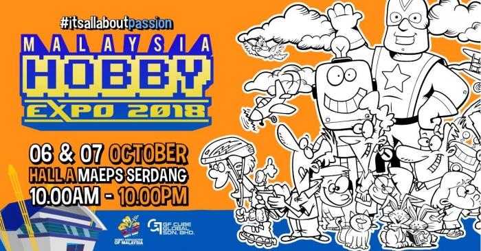 Malaysia Hobby Expo - MHX 2018