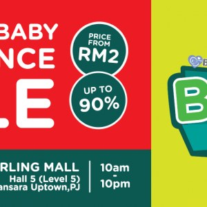 Baby Fest 2018 - Branded Baby Clearance Sale