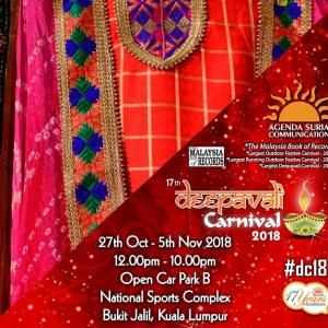 17th Deepavali Carnival 2018