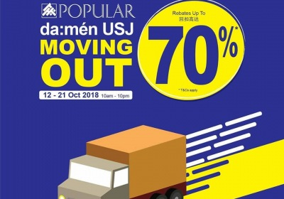 Popular Da:Men USJ Moving Out Sale - Up To 70% OFF
