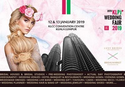 20th KLPJ Wedding Fair 2019 (JANUARY 2019) KLCC Convention Centre