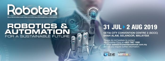 Robotex 2019 – Malaysia International Robotics & Automation Exhibition & Conference