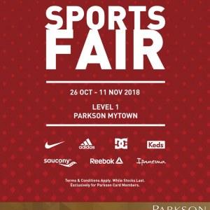 Parkson Sports Fair @ MyTown