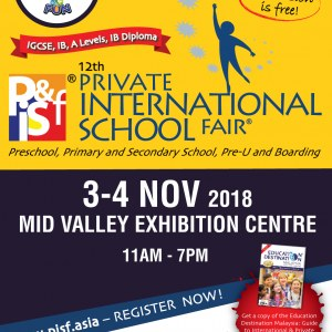 12th Private & International School Fair in Kuala Lumpur