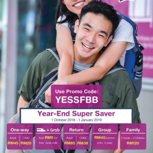 KLIA Express Year-End Super Saver Deals