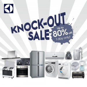 Electrolux Malaysia Knock-out Sale - Up To 80% OFF