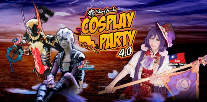Cosplay Party 4.0 at Klang Parade