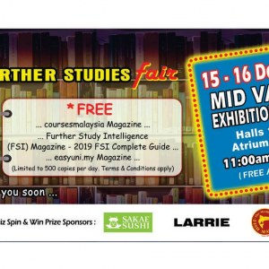 Education & Further Studies Fair – Series 48