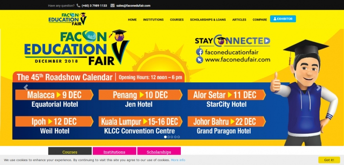Facon Education Fair 2018