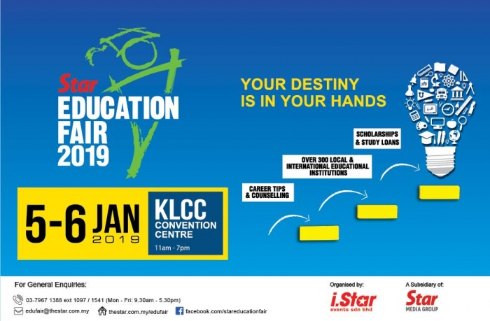 Star Education Fair 2019 @ KLCC