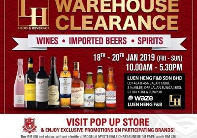 Luen Heng CNY Warehouse Clearance 2019