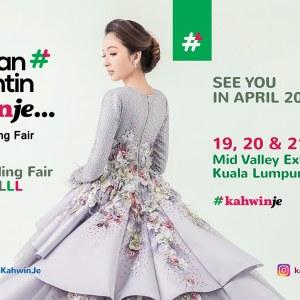 Pameran Pengantin Kahwinje by KLPJ Wedding Fair (APRIL 2019)