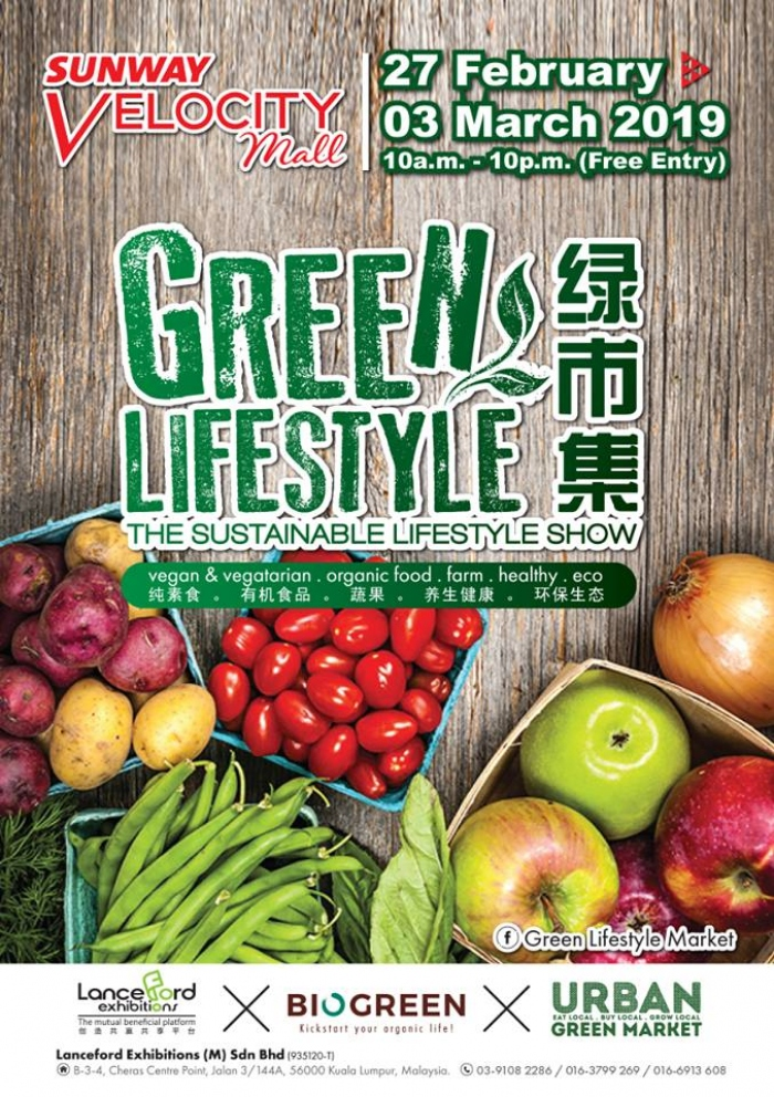 Green Lifestyle The Sustainable Lifestyle Show 2019