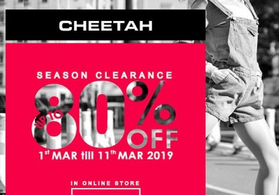 Cheetah Apparel Season Clearance Sale - Up To 80% OFF