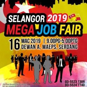 Selangor Mega Job Fair 2019