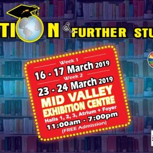 Education & Further Studies Fair (Week 1) 2019