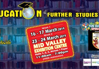 Education & Further Studies Fair (Week 2) 2019