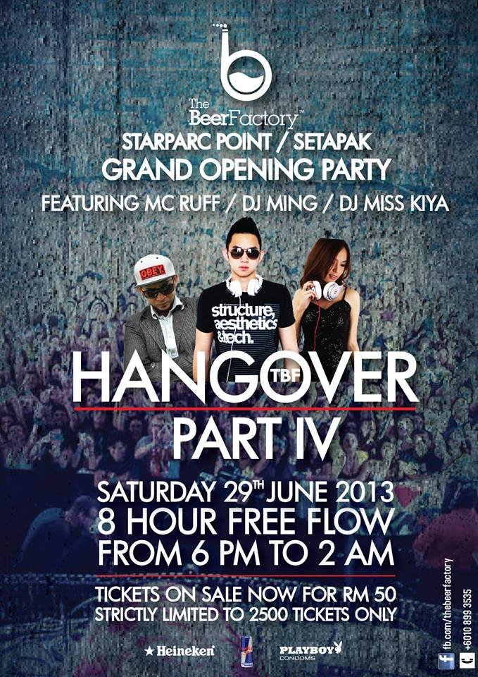 The Beer Factory StarParc Point, Setapak Grand Opening Party - 8 Hours Free Flow