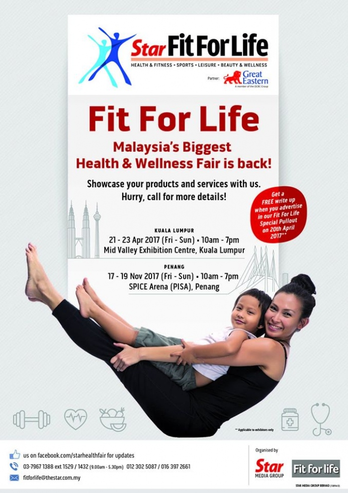 The Star Health Fair - FitForLife KL 2017