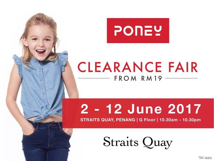 Poney Clearance Fair - Sale From RM19 (Penang)