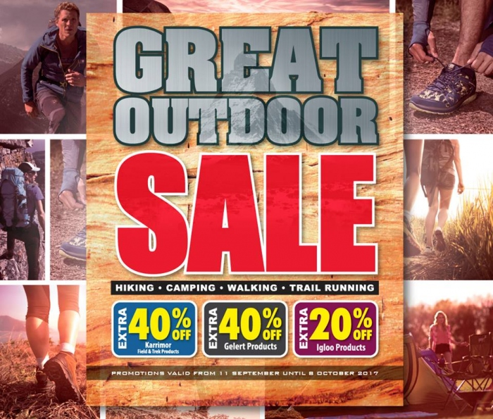 SportsDirect Great Outdoor Sale - Additional 40% OFF