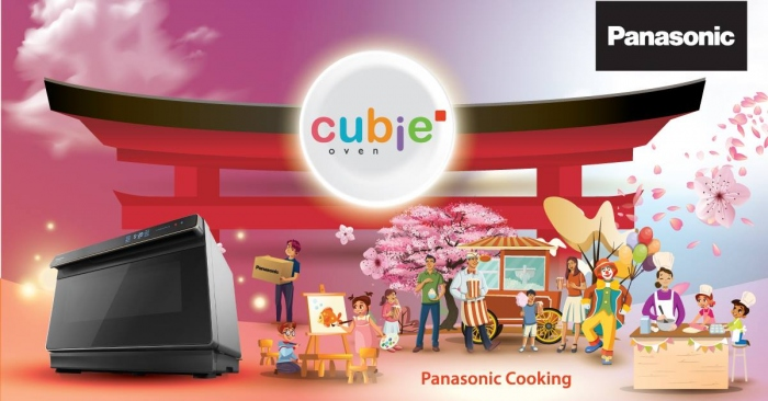 Panasonic Cooking | Big Cubie Oven Roadshow