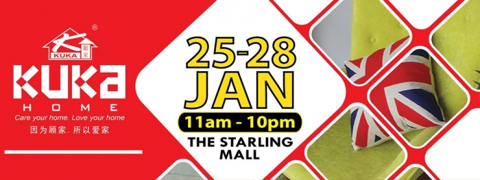 Kuka Home Gallery at THE Starling MALL!!!