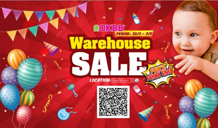 OKBB Warehouse Sale 2018 - Deals As Low As RM1