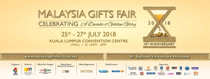 The 10th Malaysia Gifts Fair 2018