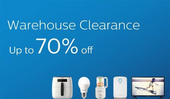 Philips Warehouse Sale - Save Up To 70%